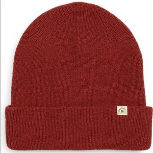 Madewell Recycled Beanie+Soft knit+recycled cotton+Gift+Eco Friendly